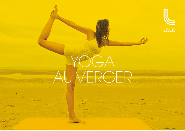 Yoga au verger